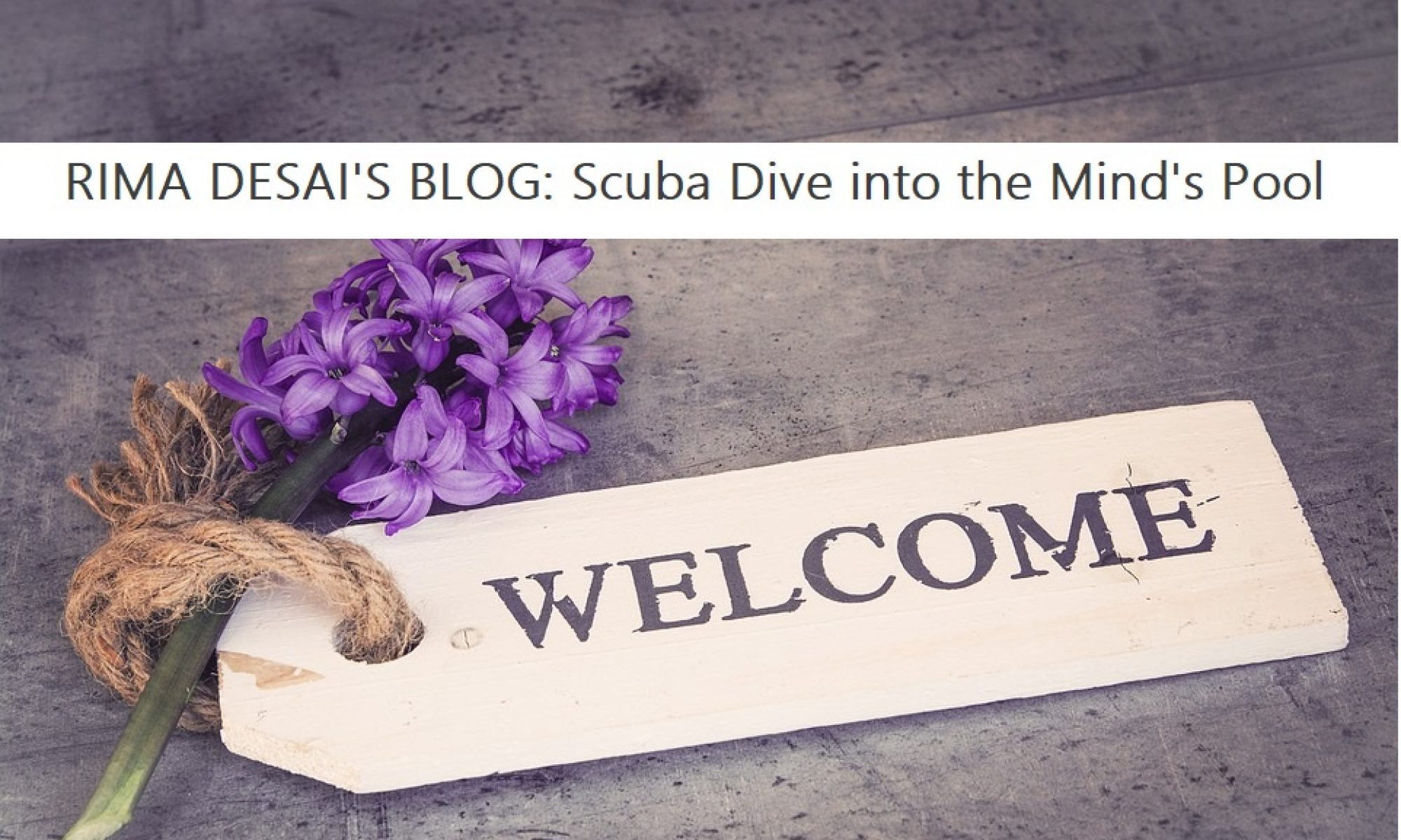 Rima Desai's: Scuba Diving into the Mind's Pool